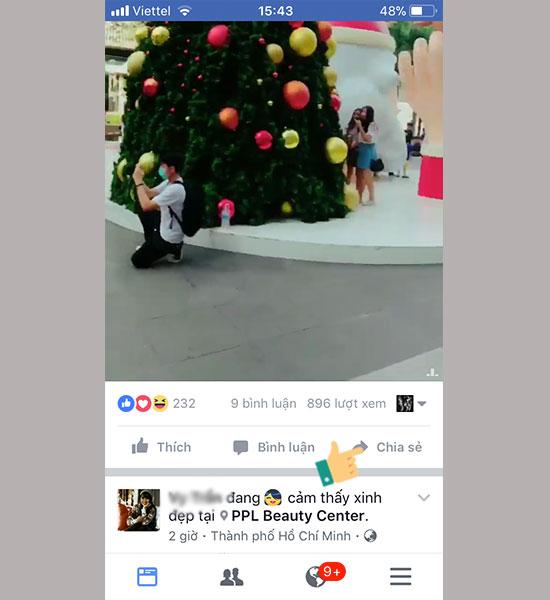 cách lưu video trên facebook về điện thoại ip