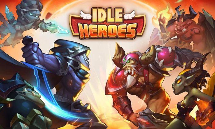 kinh nghiệm chơi idle heroes