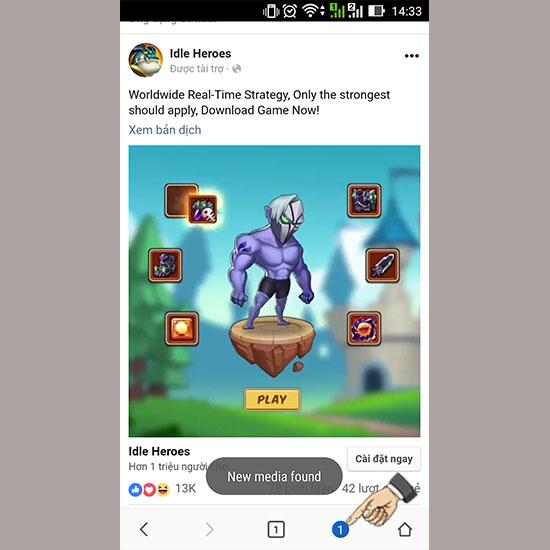 tải video từ facebook về điện thoại Android