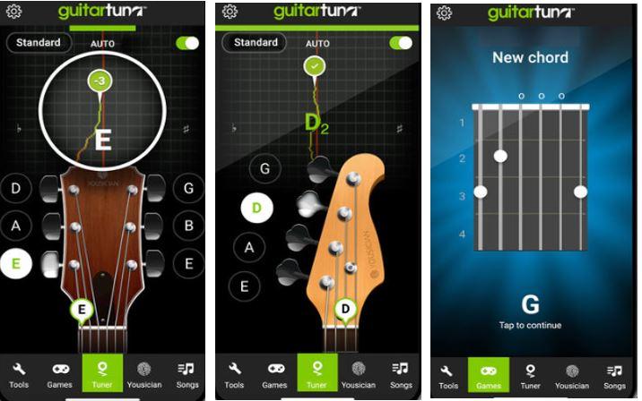 phần mềm chỉnh dây đàn ukulele