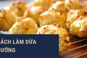 Cách làm bánh dừa nướng Đà Nẵng