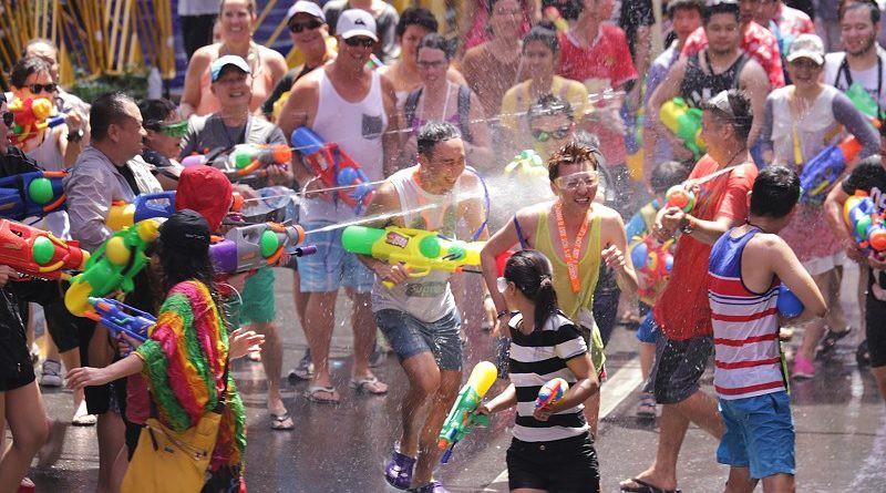 Danh sách các địa điểm tổ chức lễ hội té nước ở Thái Lan