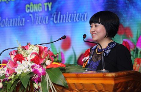 Dược sĩ Phạm Thanh Thủy - CEO của công ty Botania