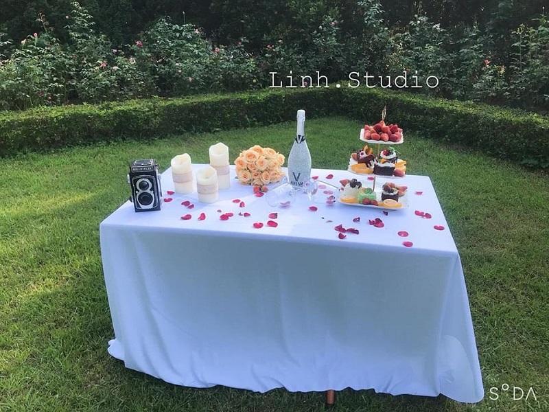 chụp ảnh cưới tại Linh studio