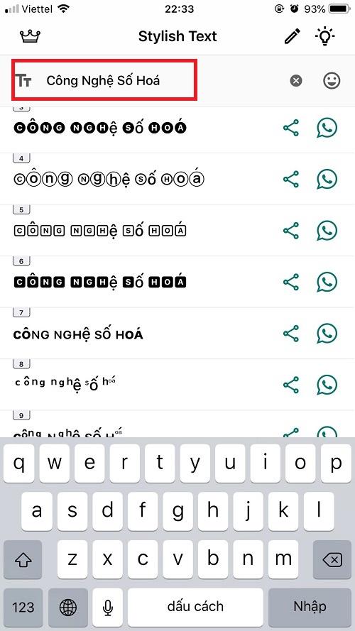 cách viết chữ in dậm, in nghiêng trên facebook