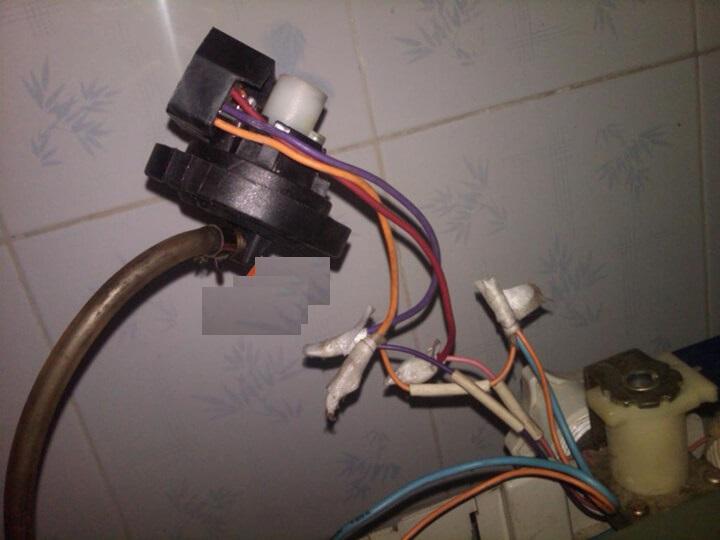 cấu tạo van xả nước máy giặt