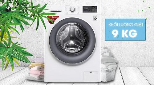Máy giặt 9kg LG FC1409S3W cửa ngang