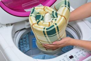Máy giặt 7kg có giặt được chăn không